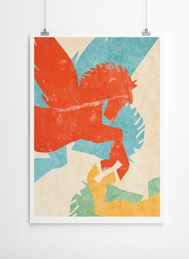 Pegasus Poster-Fabl